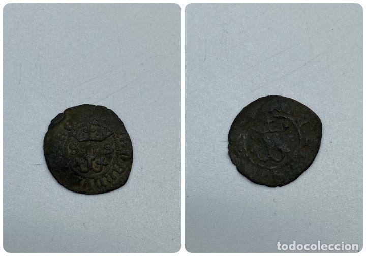 MONEDA. REYES CATÓLICOS. BLANCA. SEVILLA. VER (Numismática - Hispania Antigua- Medievales - Otros)