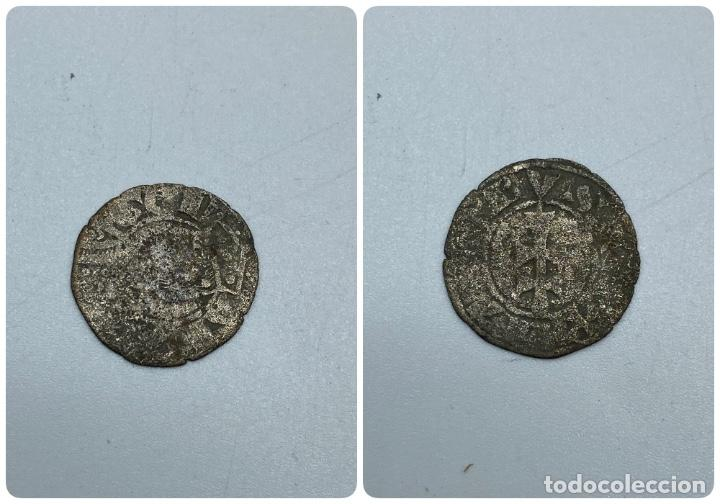 MONEDA. JAIME II. DINERO. VER FOTOS (Numismática - Hispania Antigua- Medievales - Otros)