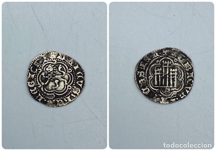 MONEDA. ENRIQUE III. BLANCA. VELLON. SEVILLA.VER FOTOS (Numismática - Hispania Antigua- Medievales - Otros)