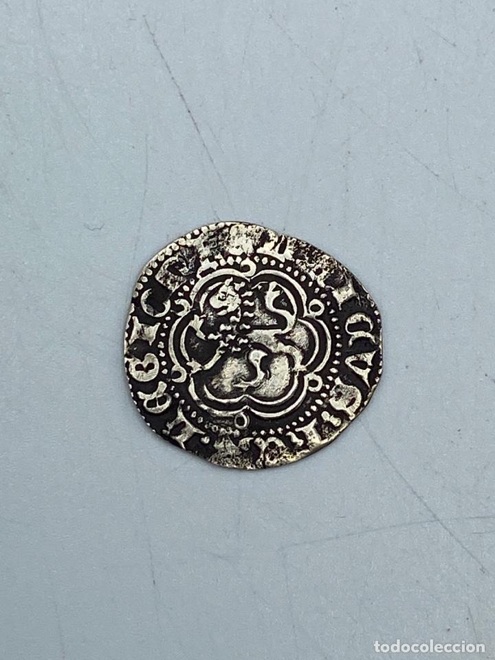 Monedas medievales: MONEDA. ENRIQUE III. BLANCA. VELLON. SEVILLA.VER FOTOS - Foto 2 - 260015890