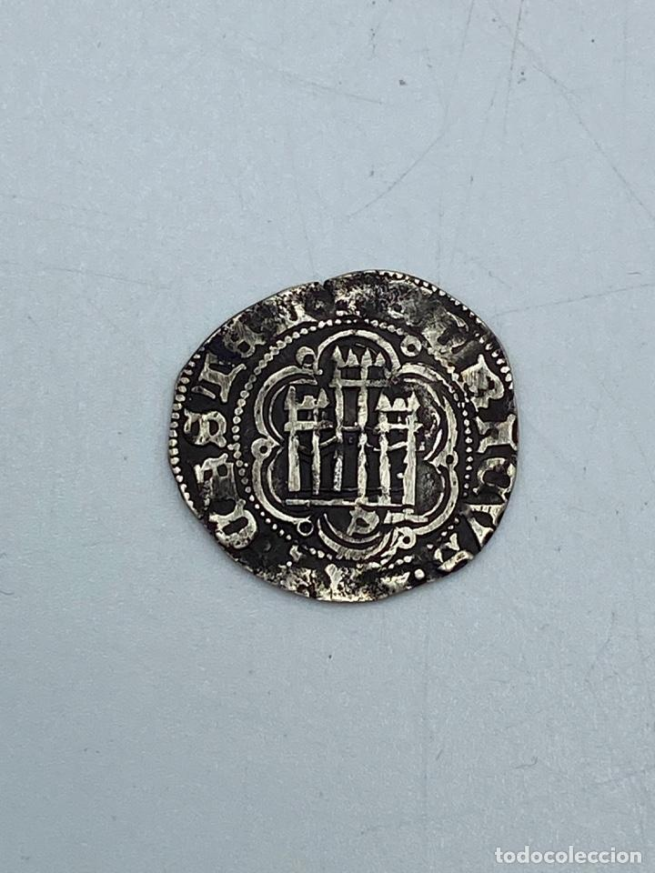 Monedas medievales: MONEDA. ENRIQUE III. BLANCA. VELLON. SEVILLA.VER FOTOS - Foto 3 - 260015890