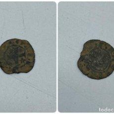 Monedas medievales: MONEDA. SANCHO IV. SEISEN O MEAJA CORNADA. DOS ESTRELLAS. VER. Lote 260018990