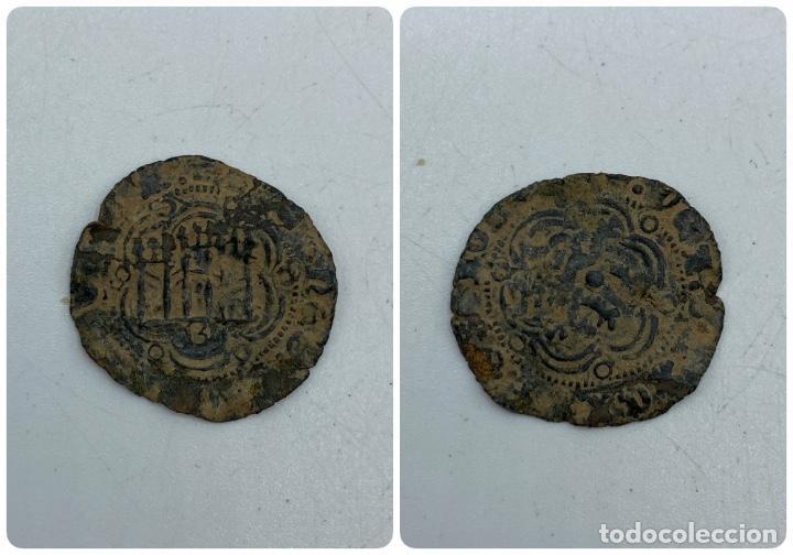 MONEDA. ENRIQUE. BLANCA. BURGOS. (Numismática - Hispania Antigua- Medievales - Otros)