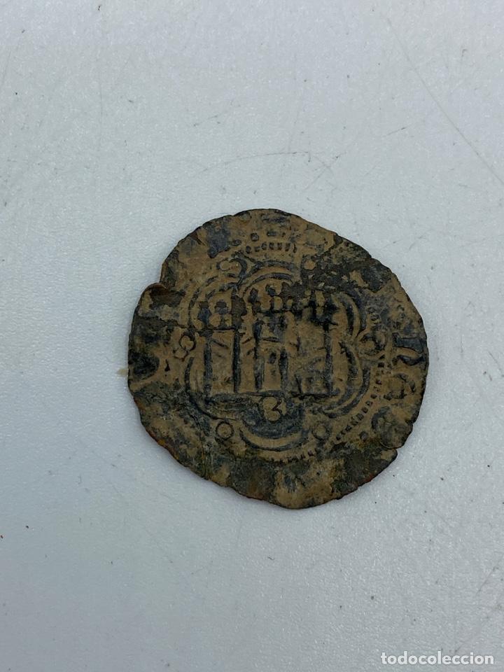 Monedas medievales: MONEDA. ENRIQUE. BLANCA. BURGOS. - Foto 2 - 260025255