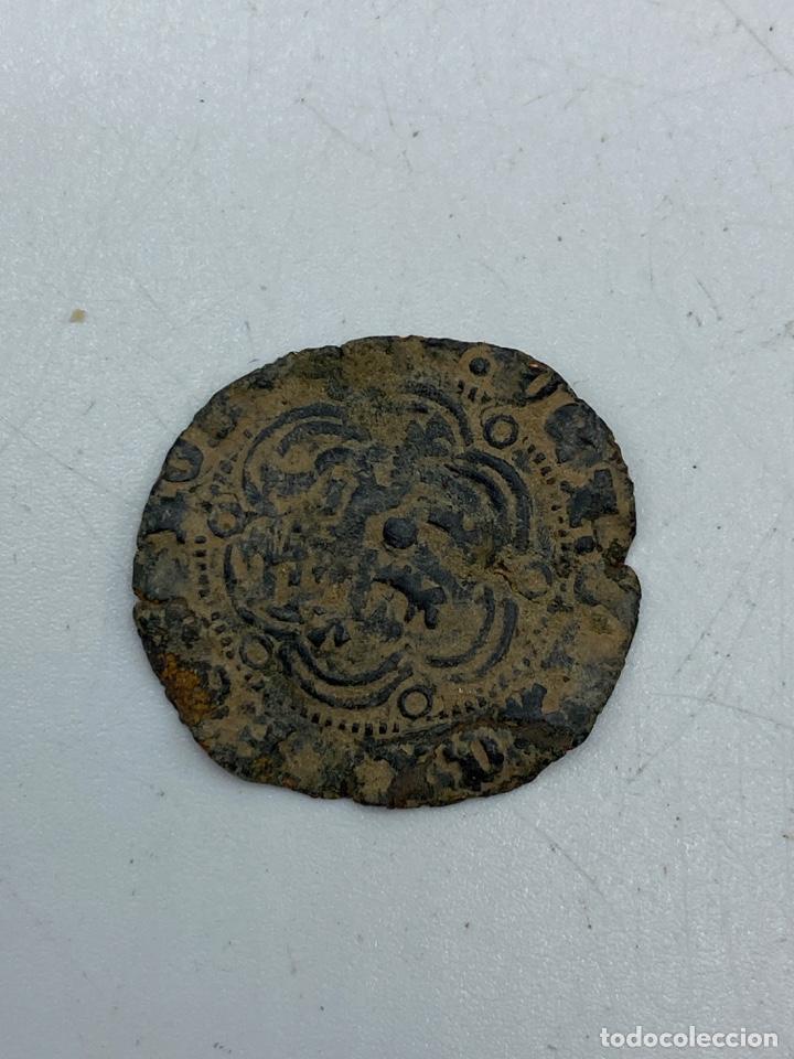 Monedas medievales: MONEDA. ENRIQUE. BLANCA. BURGOS. - Foto 3 - 260025255