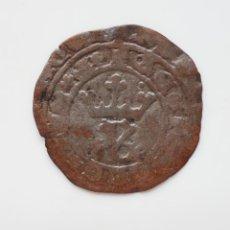 Monedas medievales: REAL BRANCO DE JOAO I DE PORTUGAL. AÑO 1415-1433. LISBOA. PUNTO EN CORONA. Lote 266743738