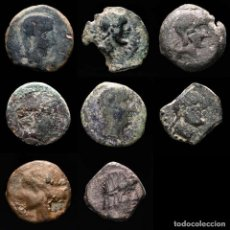 Monedas medievales: ESPAÑA ANTIGUA - LOTE DE OCHO MONEDAS IBERICAS. (LOTE 925). Lote 269036199