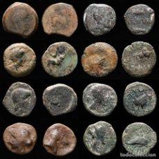 Monedas medievales: ESPAÑA ANTIGUA - LOTE DE OCHO MONEDAS IBERICAS. (LOTE 926). Lote 269037209