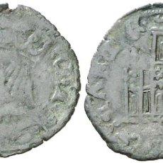 Monedas medievales: ENRIQUE II (1368-1379). SEVILLA. CORNADO. (AB. 491.1 VAR). 0,76 G. MBC+. VARIANTE. ESCASA.. Lote 269496648