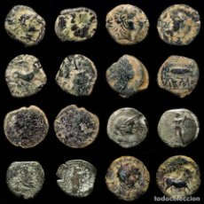 Monedas medievales: ESPAÑA ANTIGUA - LOTE DE OCHO MONEDAS IBERICAS. (LE131). Lote 269600773