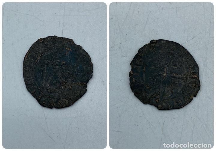 MONEDA. ENRIQUE IV. REAL DE BUSTO. (Numismática - Hispania Antigua- Medievales - Otros)