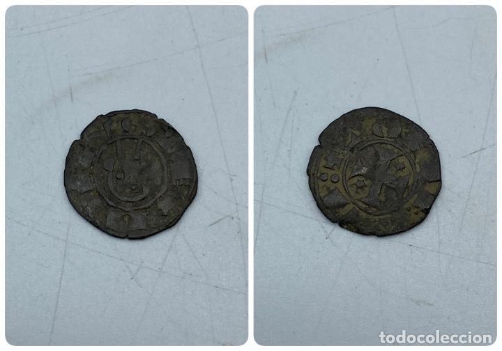 MONEDA. ALFONSO VIII DE CASTILLA. DINERO DE VELLON. VER FOTOS (Numismática - Hispania Antigua- Medievales - Otros)