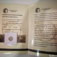 Monedas medievales: MONEDA DINERO DE HUNGRÍA MARIA DE HUNGRÍA 1382-1395. Lote 274621213