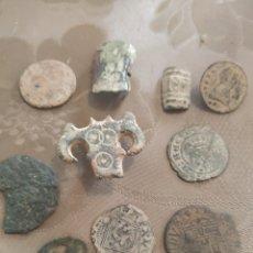Monedas medievales: LOTE DE MONEDAS Y PIEZAS MEDIEVALES. Lote 276663528
