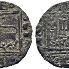 Monedas medievales: ALFONSO X (1252-1284). DOS PUNTOS. ÓBOLO O PUJESA. VELLÓN. CY1171 (90 €). 0,55 G. MBC. Lote 276973273
