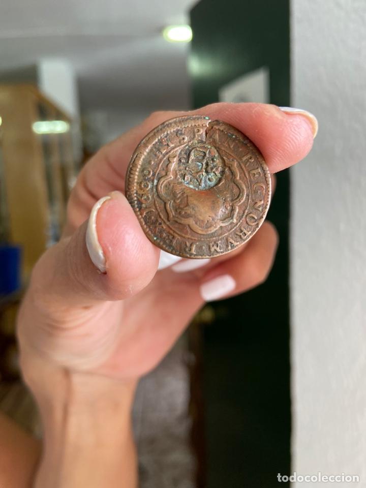 Monedas medievales: Juego 2 monedas antiguas - Foto 5 - 277446988