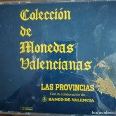 Monedas medievales: COLECCION DE MONEDAS VALENCIANAS. Lote 292560883