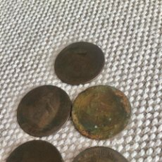 Monedas medievales: CINCO MONEDAS ANTIGUAS. Lote 293354203