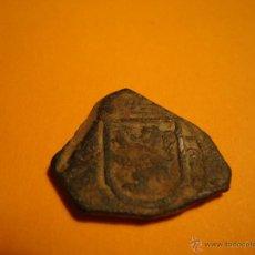 Monedas reinos visigodos: MONEDA O RESTOS DE MONEDA A IDENTIFICAR !!VER FOTOS Y LEER!! AÑO 1623. Lote 52282777