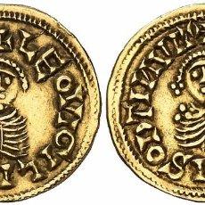 Monedas reinos visigodos: TRIENTE DE LEOVIGILDO. CÓRDOBA.(CNV. 15) (R.PLIEGO 839). 1,47 G. BONITA FALSIFICACIÓN DEL SIGLO XIX.. Lote 101371451
