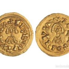 Monedas reinos visigodos: MONEDAS VISIGODAS, TRIENTE., TOLETO (CARTHAGINENSIS).. Lote 102911323