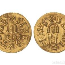 Monedas reinos visigodos: MONEDAS VISIGODAS, TRIENTE., EMERITA (LUSITANIA).. Lote 102911327