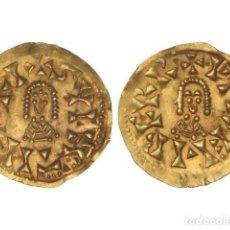 Monedas reinos visigodos: MONEDAS VISIGODAS, TRIENTE., ELIBERRI (BAÉTICA).. Lote 102911335