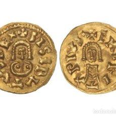Monedas reinos visigodos: MONEDAS VISIGODAS, TRIENTE., EMERITA (LUSITANIA).. Lote 102914914