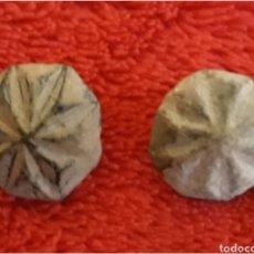 Monedas reinos visigodos: LOTE 2 BOTONES BIZANTINOS DE BRONCE. Lote 114991716