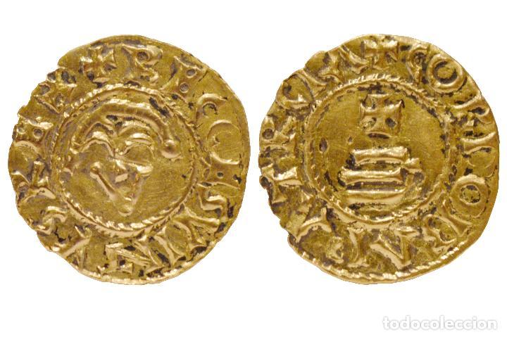 TRIENTE DE RECESVINTO CÓRDOBA ORO COPIA SIGLO XIX (Numismática - Hispania Antigua - Reinos Visigodos)