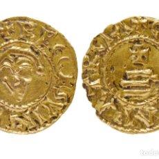 Monedas reinos visigodos: TRIENTE DE RECESVINTO CÓRDOBA ORO COPIA SIGLO XIX. Lote 117566723