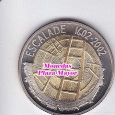 Monedas reinos visigodos: MPM-MONEDAS-SUIZA 5 FRANCOS-2002 FIESTA DE LA ESCALADA. Lote 129122610