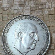 Monedas reinos visigodos: MONEDA 100 PESETA 1966 *19~70 PLATA. Lote 130663885