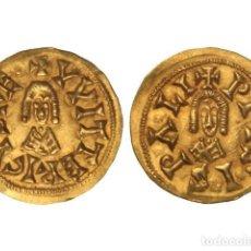 Monedas reinos visigodos: MONEDAS VISIGODAS, TRIENTE., ISPALI (BAÉTICA).. Lote 138762430