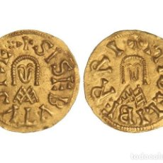Monedas reinos visigodos: MONEDAS VISIGODAS, TRIENTE., ELIBERRI (BAÉTICA).. Lote 138762434