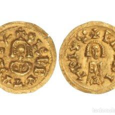 Monedas reinos visigodos: MONEDAS VISIGODAS, TRIENTE., EMERITA (LUSITANA).. Lote 138762446
