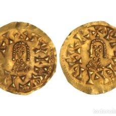 Monedas reinos visigodos: MONEDAS VISIGODAS, TRIENTE., ELIBERRI (BAÉTICA).. Lote 138762564