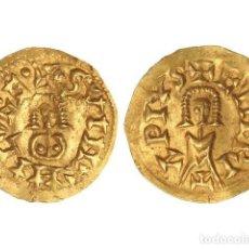 Monedas reinos visigodos: MONEDAS VISIGODAS, TRIENTE., EMERITA (LUSITANIA).. Lote 138762568