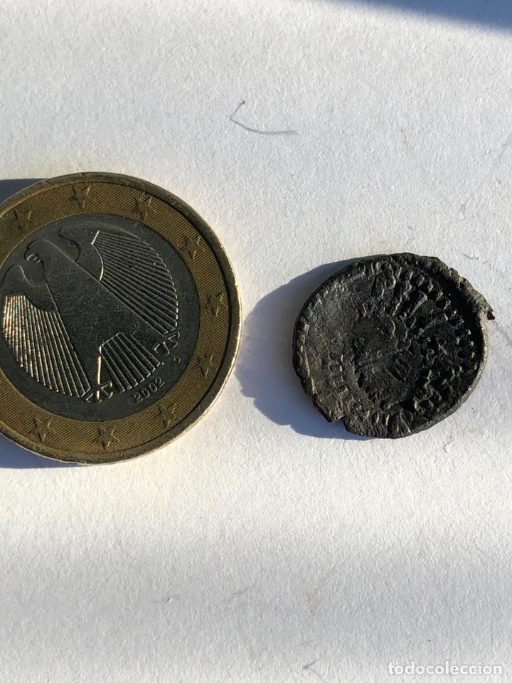 Monedas reinos visigodos: Moneda antigua s un dinerillo de Valencia - Foto 3 - 142784438
