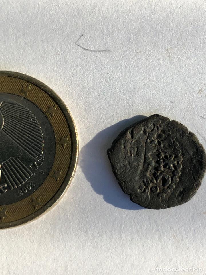 Monedas reinos visigodos: Moneda antigua s un dinerillo de Valencia - Foto 4 - 142784438