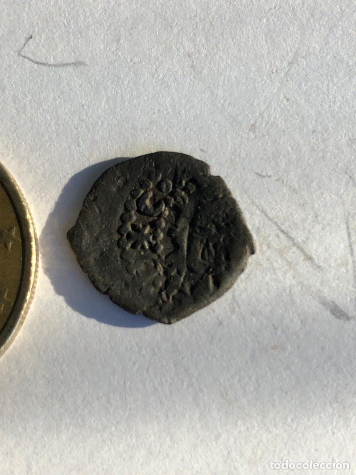 Monedas reinos visigodos: Moneda antigua s un dinerillo de Valencia - Foto 5 - 142784438