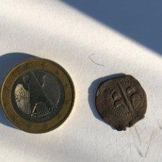 Monedas reinos visigodos: MONEDA ANTIGUAS DINERILLO DE VALENCIA, DE CARLOS I O II,. Lote 142784678
