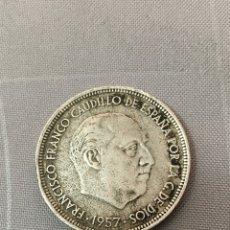 Monedas reinos visigodos: MONEDA 50 PESETAS 1957 *71 VINTAGE. Lote 143995412