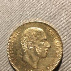 Monedas reinos visigodos: MONEDA DE 25 PESETAS DE ORO DE 1881 * 18 * 81 - ALFONSO XII. Lote 154546874