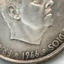 Monedas reinos visigodos: MONEDA 100 PESETAS PLATA 1966. 70 * FRANCISCO FRANCO. Lote 167832544
