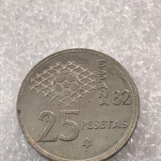 Monedas reinos visigodos: 25 PESETAS JUAN CARLOS I 1980 MUNDIAL 1982. *81. Lote 171120762