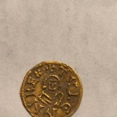 Monedas reinos visigodos: MONEDA DE ORO ACUÑADA DURANTE EL REINADO DE TULGA - TRIENTE DE CORDOBA - MUY RARA!!. Lote 175786169