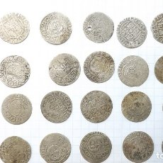 Monedas reinos visigodos: COINS OF POLAND AND SWEDEN 17TH CENTURY. Lote 176283403