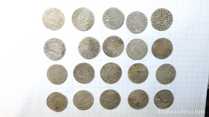 Monedas reinos visigodos: coins of poland and sweden 17th century - Foto 2 - 176283403
