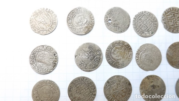Monedas reinos visigodos: coins of poland and sweden 17th century - Foto 3 - 176283403